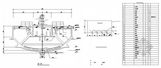 14.3米机械加速澄清池工艺设计图