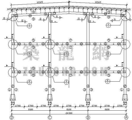 某钢结构超市[含结构图]-2