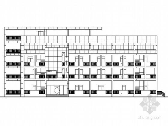 [江宁滨江开发区]某厂房办公楼建施图(含建筑节能报告书)及效果图