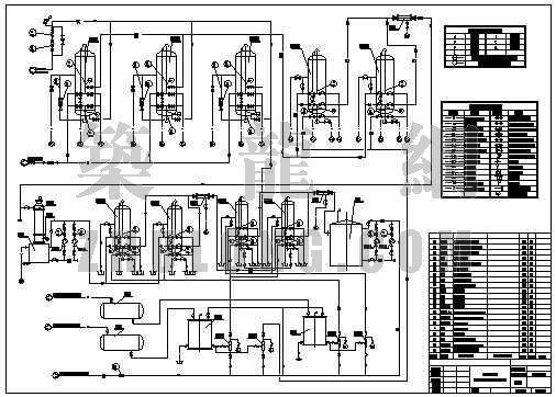 安徽某纯水站工艺流程图