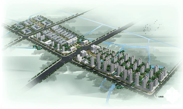 [江蘇]新中式低密度縣級中專學校建筑設計方案文本(知名設計院)