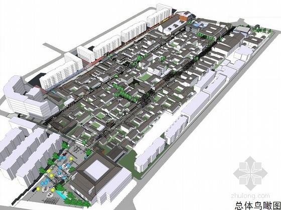 [成都]历史文化古城巷子景观规划设计方案
