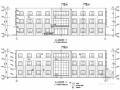 [唐山]三层框架结构经典综合办公楼结构施工图(含建筑图)