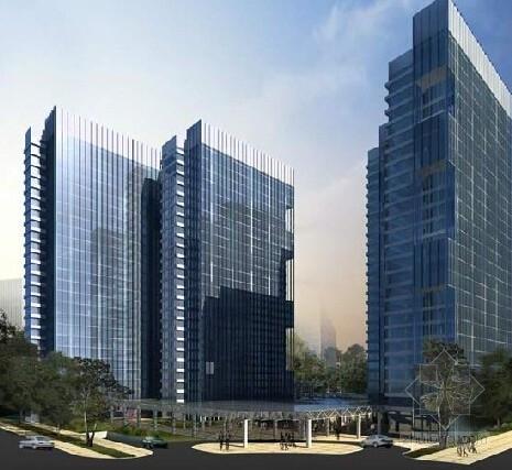 [大连]42层筒中筒结构超高层商务办公楼及公寓会所结构施工图(含建筑图)