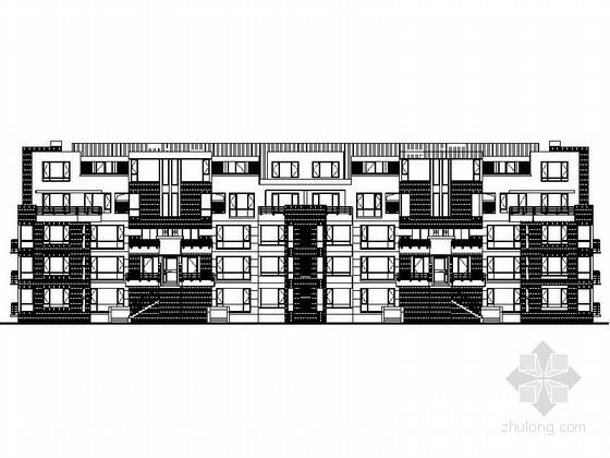 [广州]某五层花园洋房建筑施工图