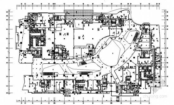 [重庆]商业中心裙房暖通设计施工图