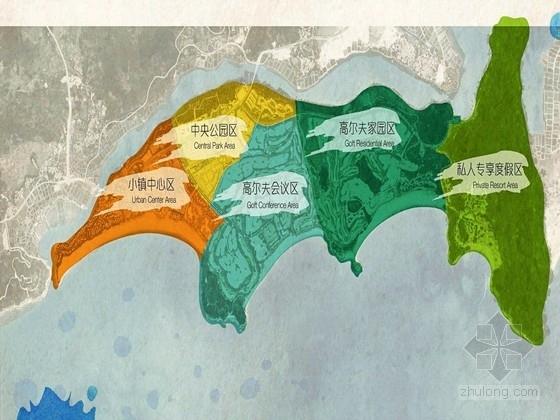 [海南]滨水海湾示范区景观概念设计方案