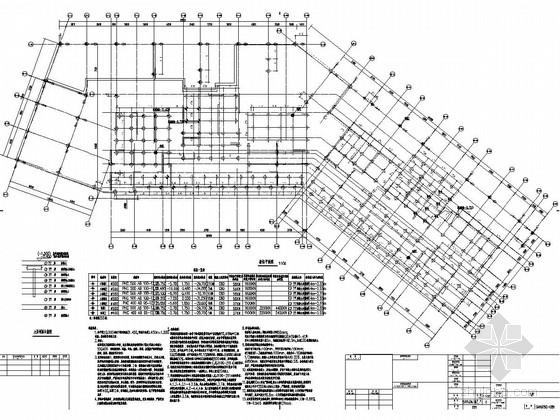 [安徽]地上28层剪力墙结构住宅楼结构施工图