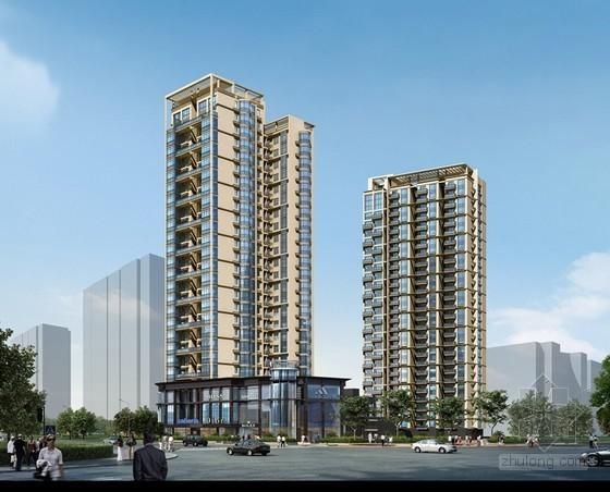 33层商住楼(含车库)投资估算实例(574万平方米)