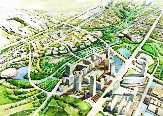 [上海]国际体育中心规划及单体设计方案文本(国外知名建筑设计公司)