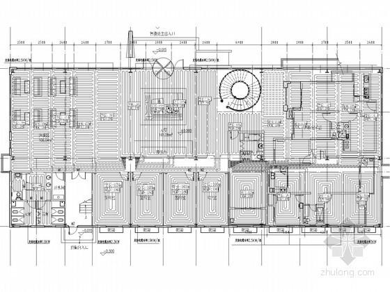 [河北]张家口某售楼处空调采暖施工图
