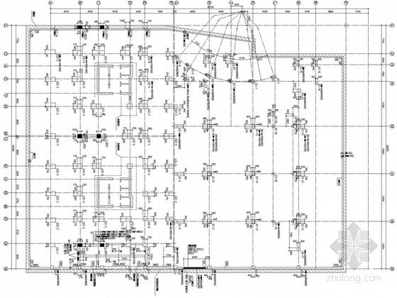 30层框支剪力墙商住楼结构施工图(带副楼、塔楼)