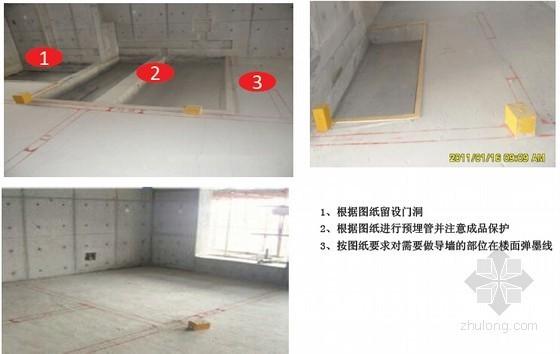 建筑工程二次结构标准工艺要点做法图解