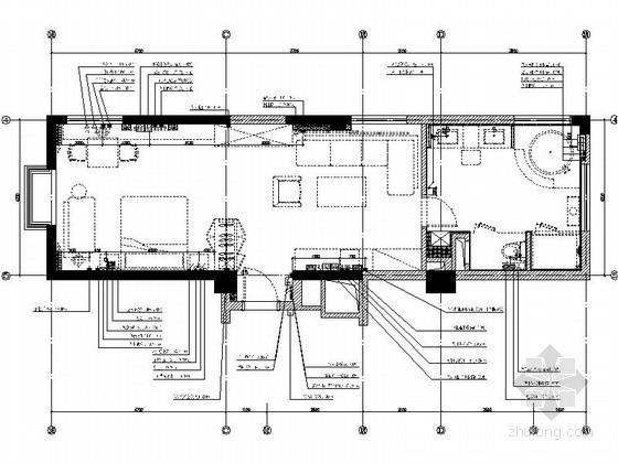 [杭州]高档连锁酒店新古典豪华套房装修图