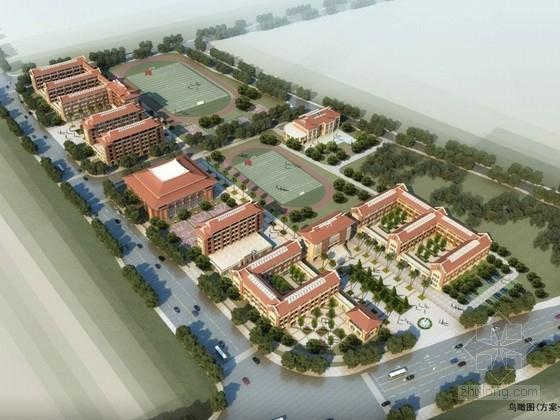 [福建]现代风格中小学校园规划设计方案文本(多种方案 知名设计院)