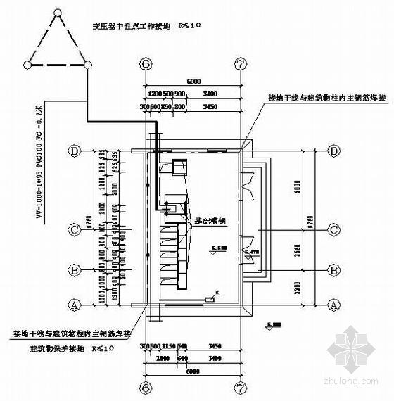 20kv配电所设计资料下载-苏州某20KV变电所电气图纸