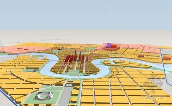 [天津]大型城市综合体规划及单体设计文本(国外知名建筑设计事务所)