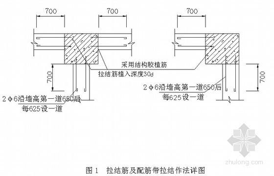 住宅小区砌筑工程施工方案(节点详图)
