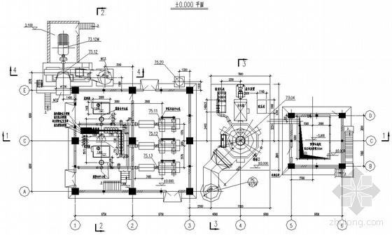内蒙古某水泥公司气体灭火系统图纸