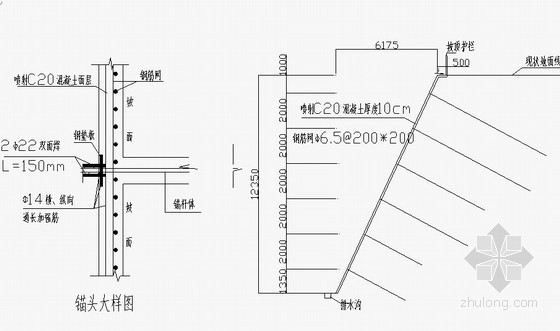 [山东]隧道工程边坡开挖支护施工方案