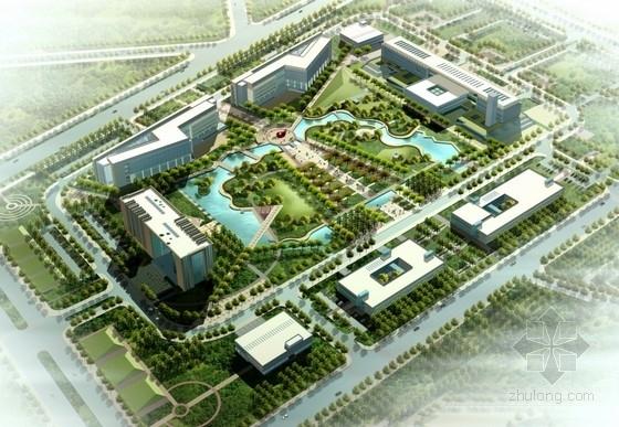 [新疆]现代风格科研办公区规划及单体设计方案文本(上海知名大学设计)