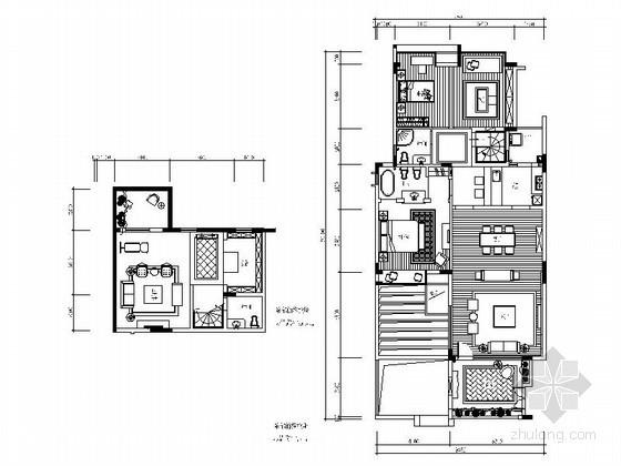 某地中海两居室内设计图