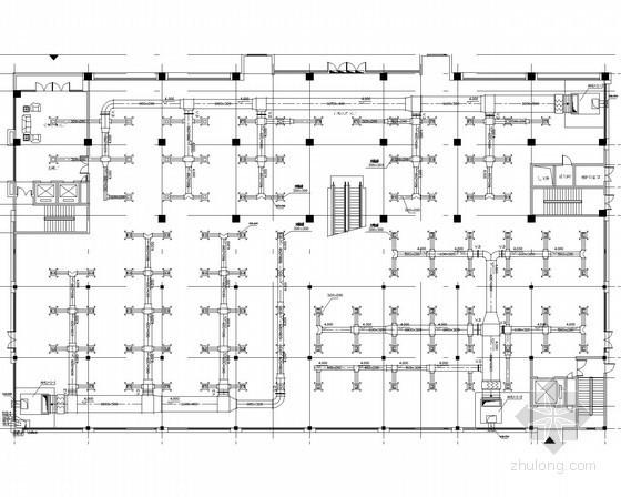 小型商业办公综合楼空调自控系统设计施工图