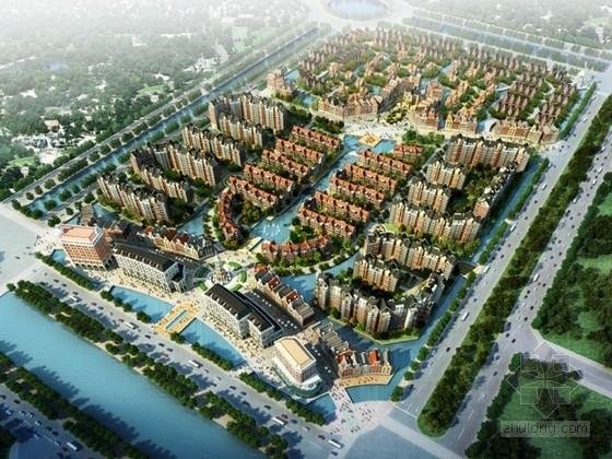 [南昌]某欧式风格住宅区规划及单体设计方案文本