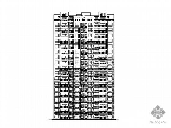 [安徽]某十八层、一梯四、顶层复式住宅楼建筑施工图