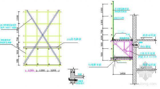 北京市某住宅工程脚手架施工方案