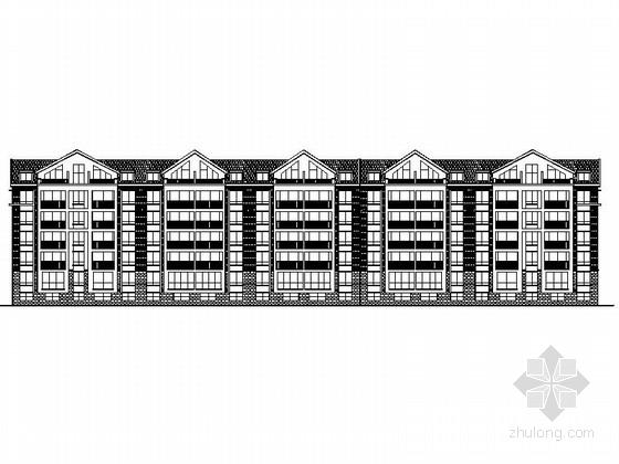 [江苏]多层框架结构坡屋顶带阁楼住宅建筑施工图