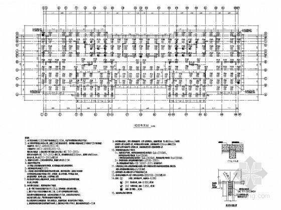 [江苏]20层剪力墙结构住宅楼结构施工图(223根空心方桩)