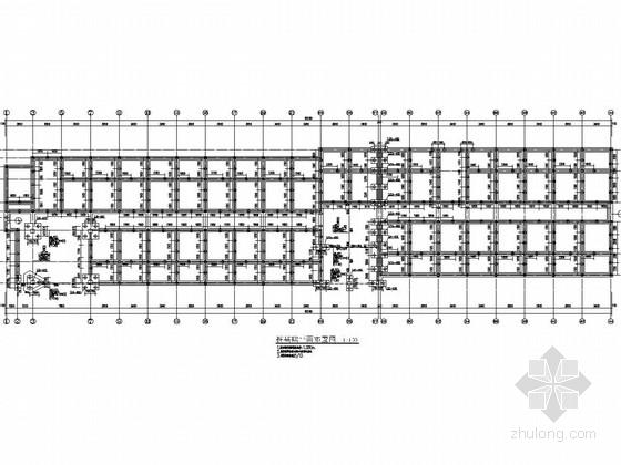 六层混合结构学生公寓施工图(含建施)