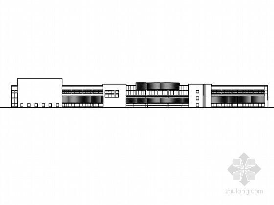 [柳浪]某游泳场洗浴中心建筑方案设计(带效果图)