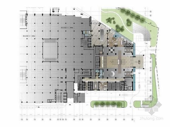 [云南]豪华第一城奢华五星级酒店设计方案