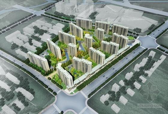[上海]高层现代风格塔式中小型住宅建筑设计方案文本