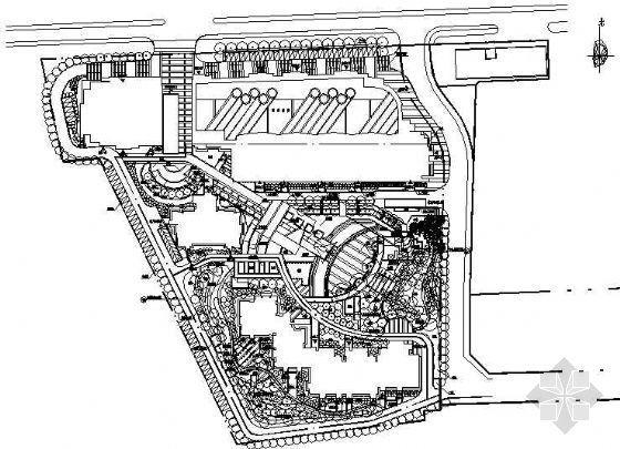 北京住宅小区全套景观设计施工图