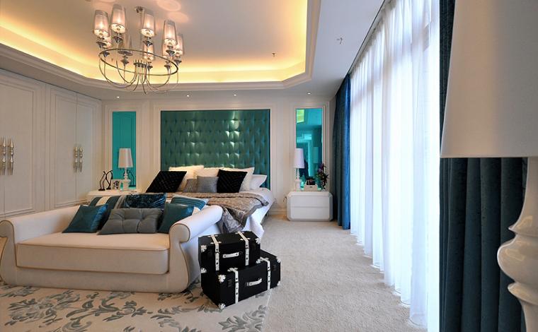 深圳皇庭都会轩玺园别墅样板房室内设计方案