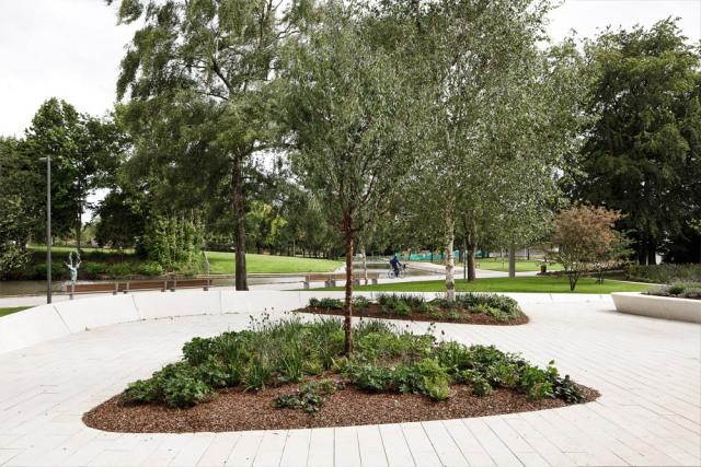 2-英国斯蒂夫尼奇镇中心花园kok第2张图片