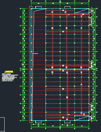 钢结构框架厂房施工图纸(含建筑结构、给排水)_5