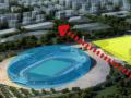 BIM城市核心3000座體育場館建筑設計方案文本(含全專業CAD)