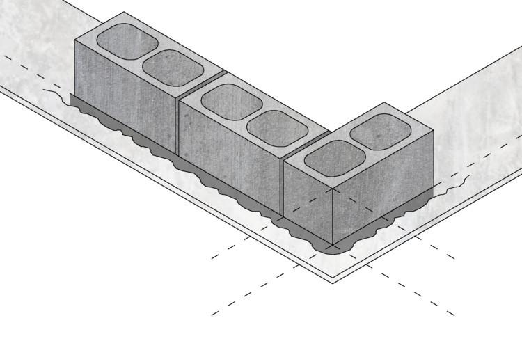建筑中的混凝土块:如何使用这些低成本材料?_9