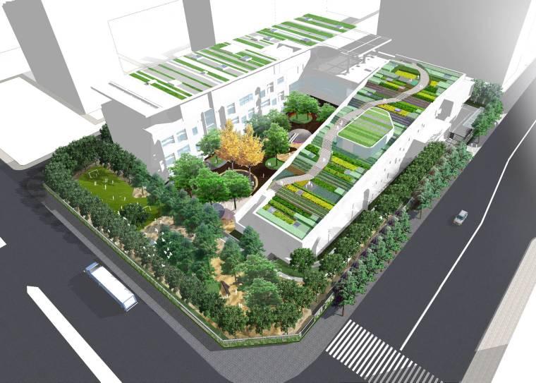 [北京]自然·成长乐成国际幼儿园景观设计
