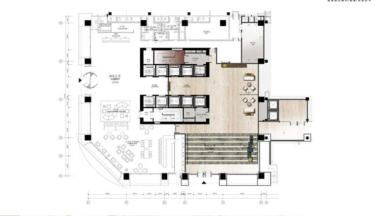 [成都]高端大气综合性酒店室内设计方案及效果图
