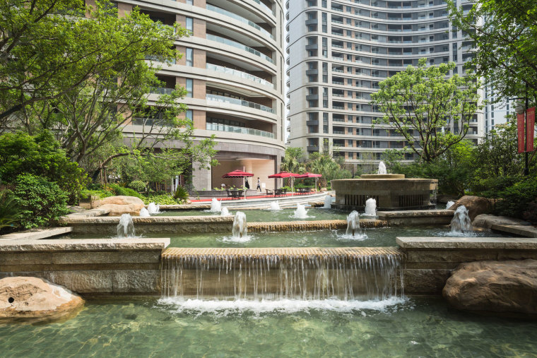上海中凯城市之光名邸居住景观