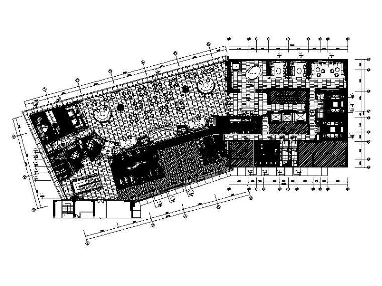 [广州]知名房地产会所售楼部设计施工图