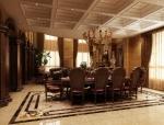 鄂尔多斯两层欧式古典豪宅施工图(含效果图)