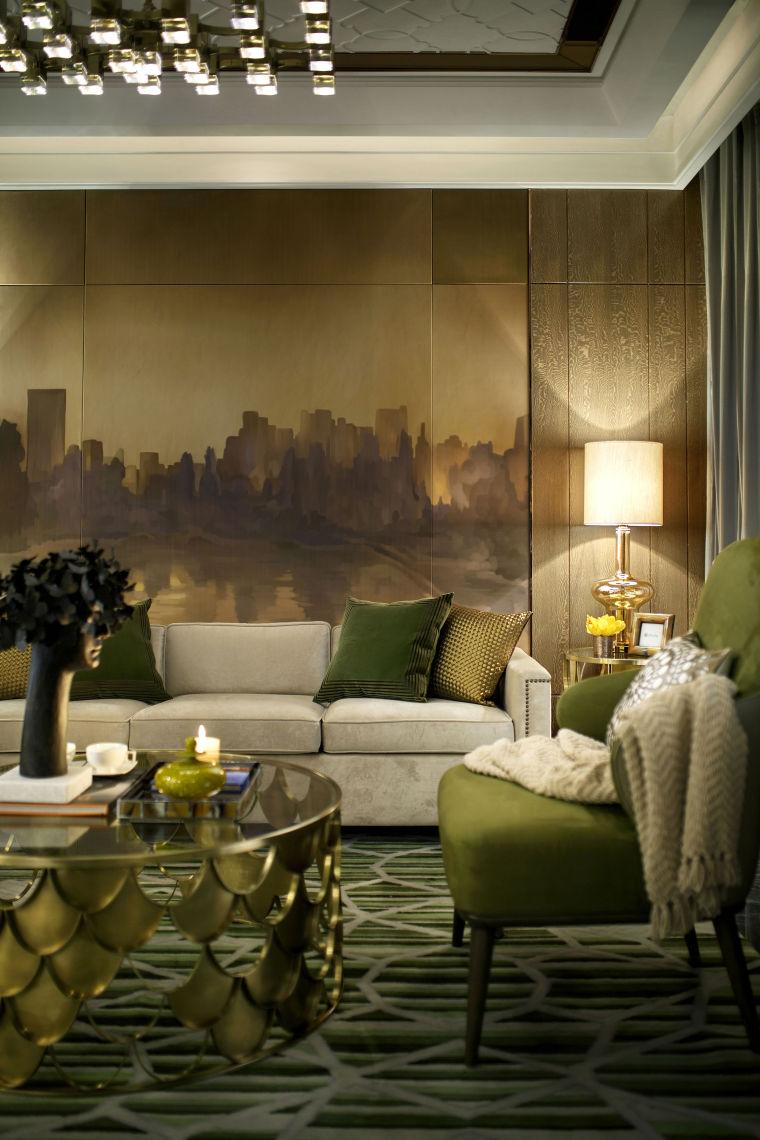 长龙领航140户型样板房室内实景图 (1)