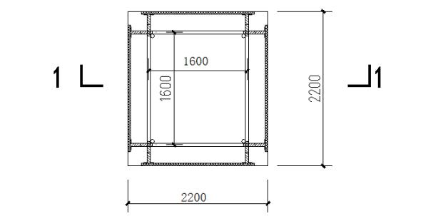 中天建设石狮国工程电梯井操作平台施工方案