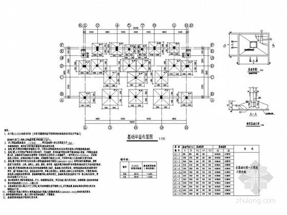 [广东]三层框架结构办公楼结构施工图